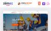 """""""Civil Group - Construction Company Multipage Modern HTML"""" modèle web adaptatif Grande capture d'écran"""