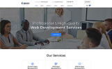 Expace - Web Development Multipage Clean HTML Template Web №51408
