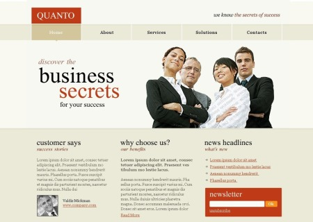 Free Business Services PSD