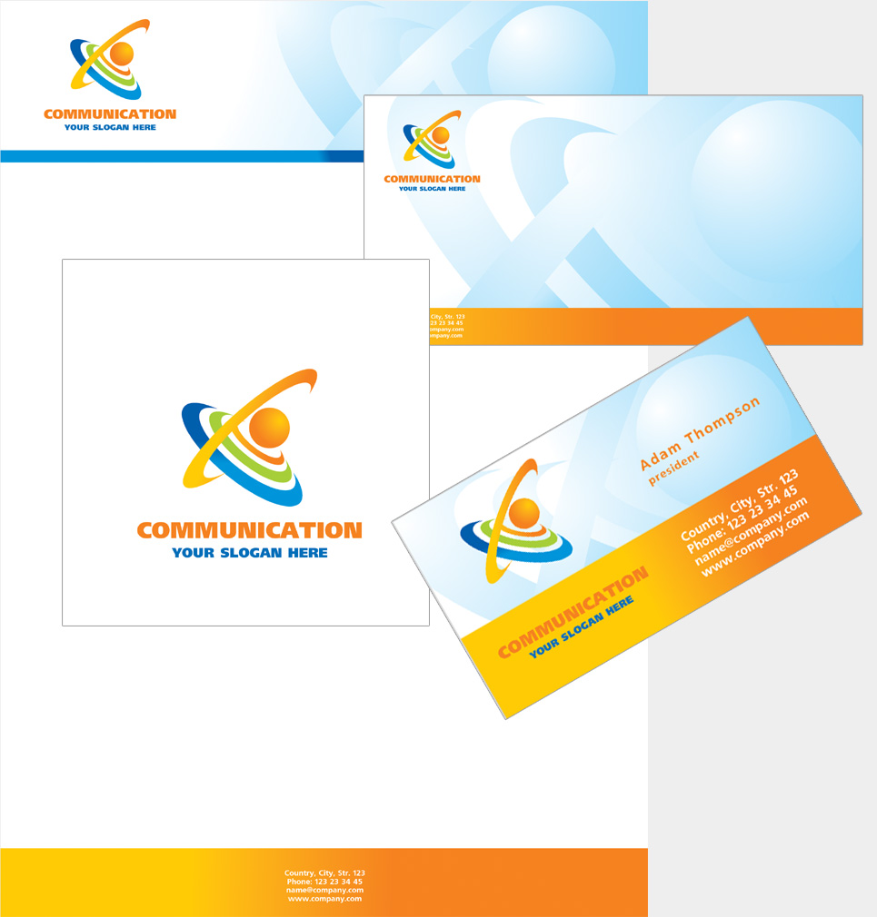 free corporate identity templates free corporate identity template