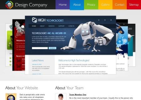 Free HMTL5/CSS3  - Design Company