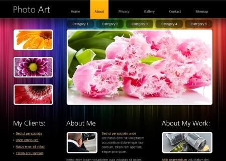 Free HTML5   - Photo Portfolio