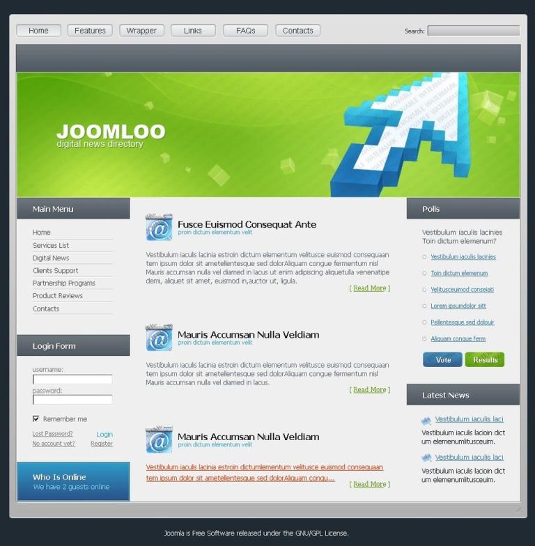Free Joomla Templates | Free Joomla Themes