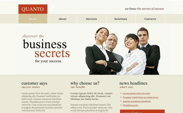 Free psd templates free psd website template template monster free psd templates psd website template new screenshots big pronofoot35fo Gallery