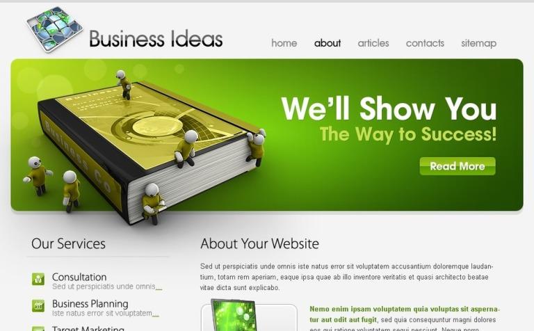 Free Template Business Ideas Website Template New Screenshots Big