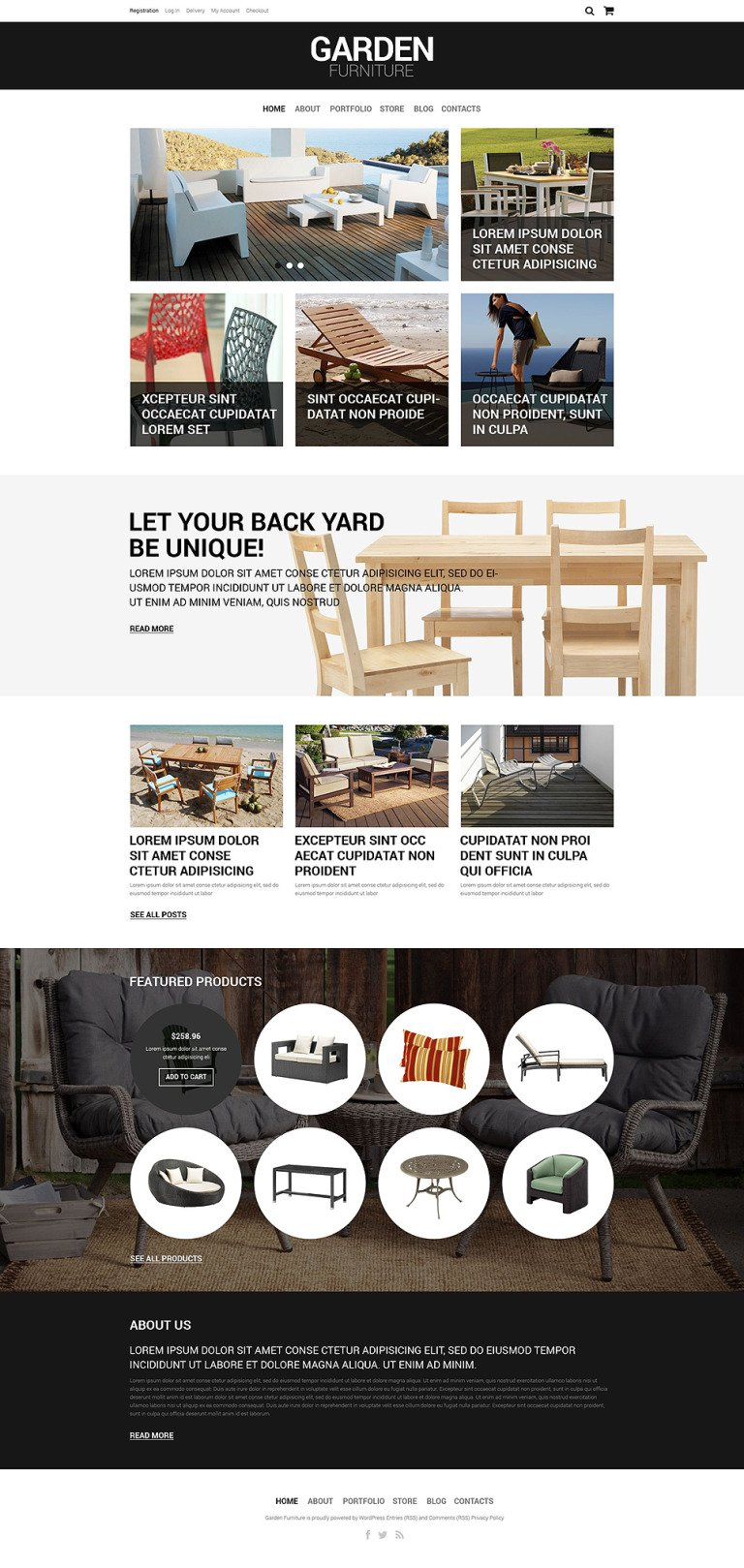Furniture Responsive WooCommerce Theme New Screenshots BIG