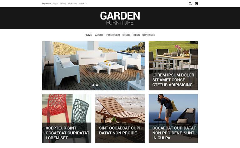Furniture Responsive WooCommerce Theme