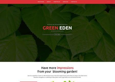 Garden Design Responsive