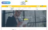 """""""Modèle HTML5 gratuit - site d'hébergement web"""" modèle web adaptatif"""
