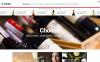 Template Photoshop  para Sites de Vinho №51411 New Screenshots BIG
