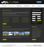 Real Estate Website  Template 51500