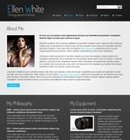 Art & Photography Website  Template 51520
