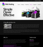 Web Hosting Website  Template 51522