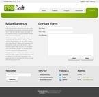 Software Website  Template 51524