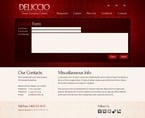 Food & Drink Website  Template 51531