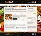 Food & Drink Website  Template 51538