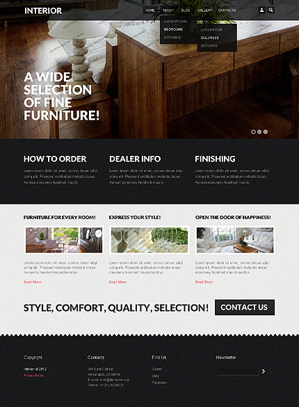 Drupal Template 51546 Main Page Screenshot