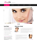 Wedding Website  Template 51555