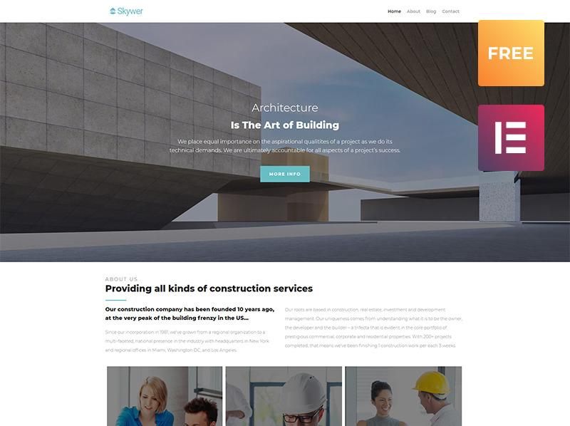 WordPress sablon New Screenshots BIG