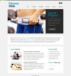Sport Website  Template 51573
