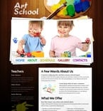 Art & Photography Website  Template 51578