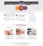 Beauty Website  Template 51587