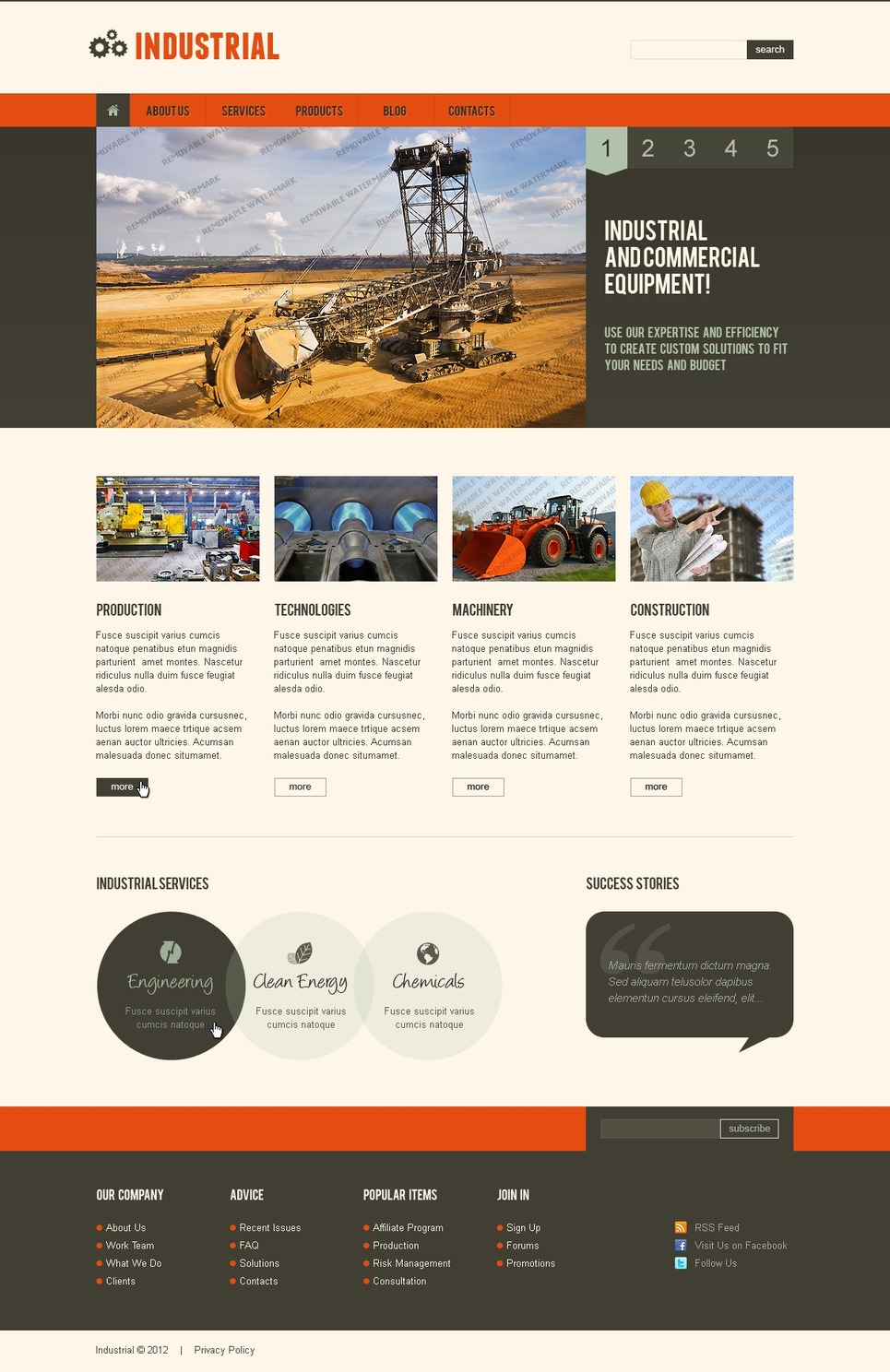 template for joomla 168 with responsive free joomla template