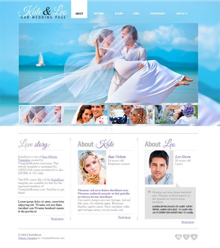 ADOBE Photoshop Template 51597 Home Page Screenshot