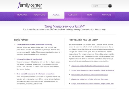 Free   for Family Center - Clean Style