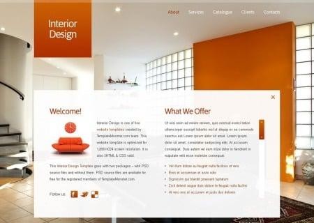 Free Full JavaScript Animated  - Interior Design