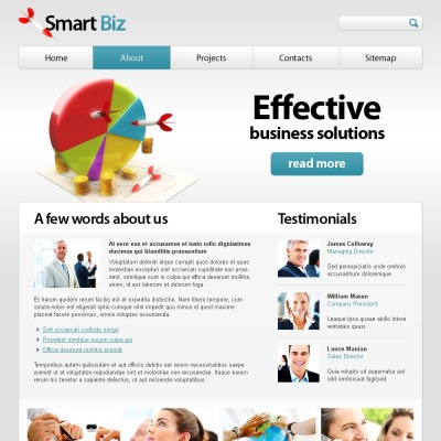 Free html template for business website business website template wajeb Images