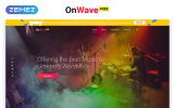 Free HTML5 Music Website Template Website Template
