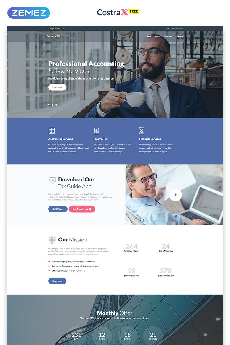 Free PRO Website Template Website Template