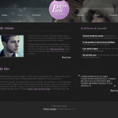 free theme with justslider jcarousel fancybox