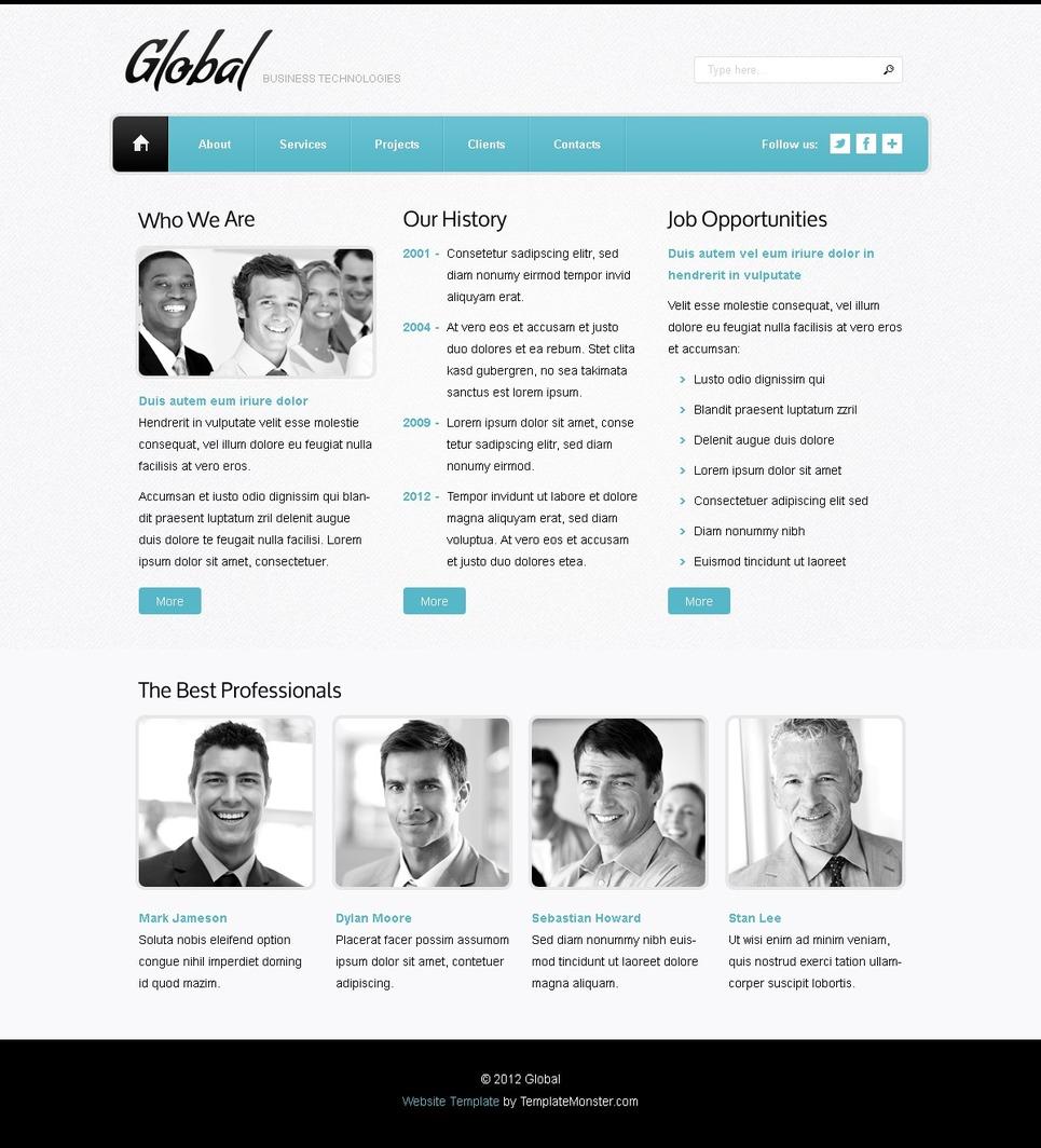 Free Kahoot Web Template: Free Website Template