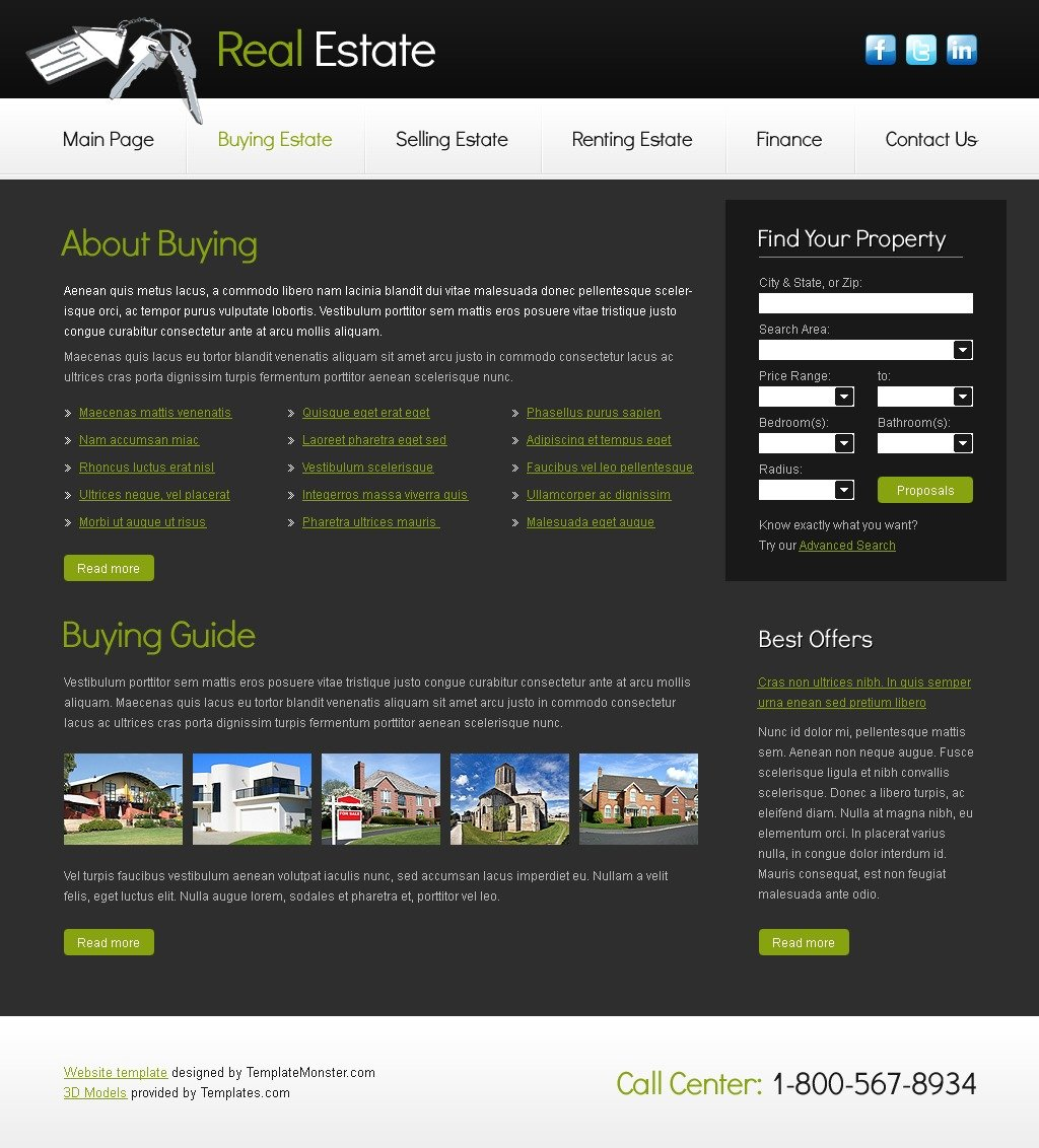 website template for real estate company website template for real estate company website template new screenshots big · zoom in