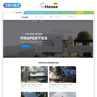 free website templates templatemonster