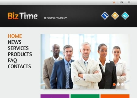 Free   with Single Page Layout - Business