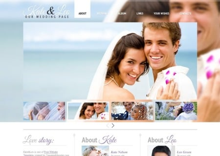 Free   - Wedding Page