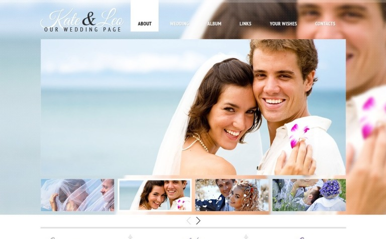 Free website template wedding page free wedding template website template new screenshots big maxwellsz