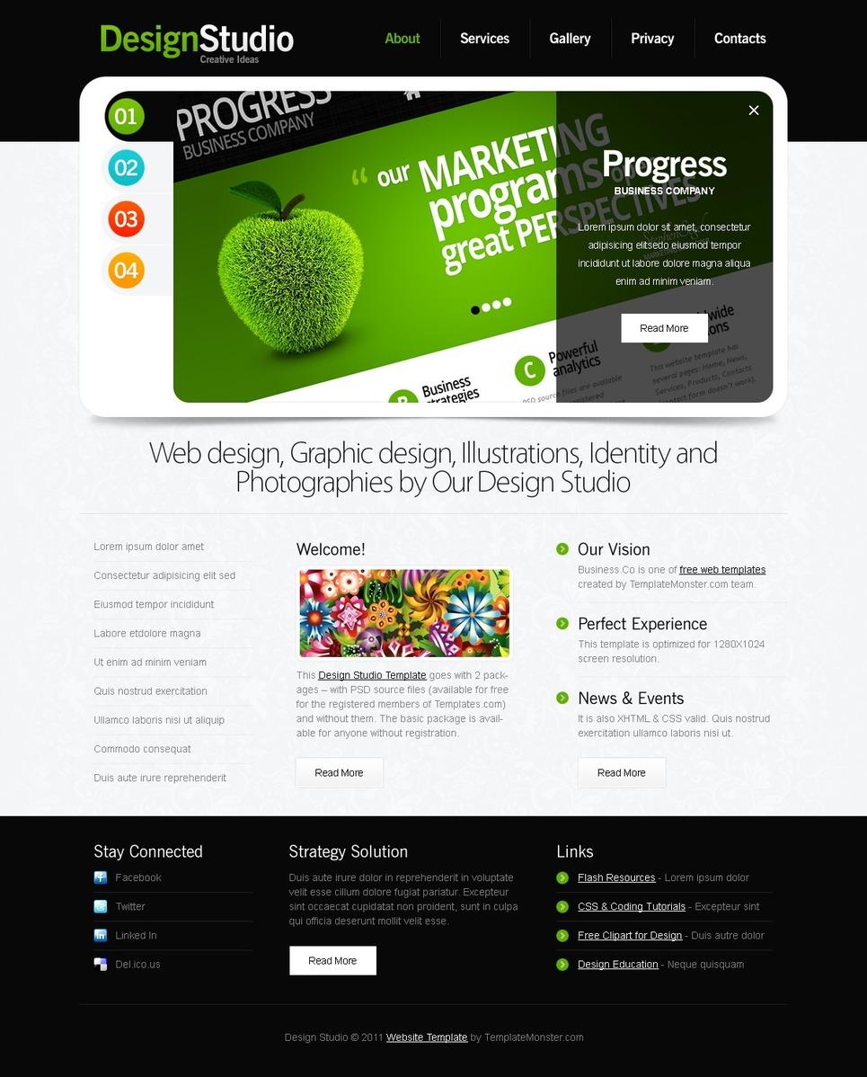 Plantilla Web #51543 para Sitio de Diseño