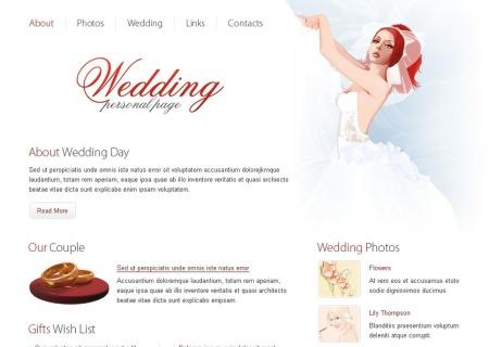 Wedding  Free HTML
