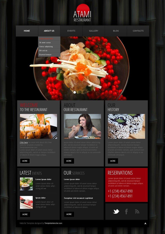 Free wordpress theme restaurant