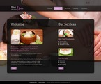 Beauty Website  Template 51638