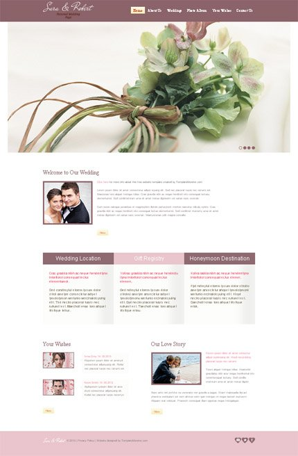 ADOBE Photoshop Template 51643 Home Page Screenshot