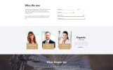 "Template Siti Web Responsive #51655 ""Free Responsive JavaScript Animated Template"""