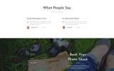 Responsywny szablon strony www Free Bootstrap 4 HTML Template #51656