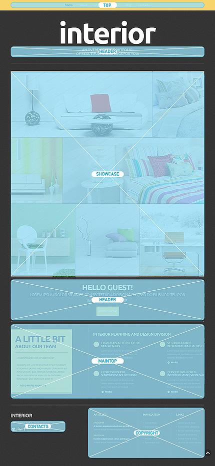 Joomla Theme/Template 51658 Main Page Screenshot