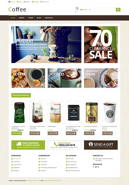 ADOBE Photoshop Template 51662 Home Page Screenshot