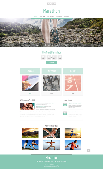 ADOBE Photoshop Template 51682 Home Page Screenshot